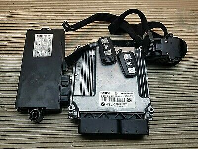 BMW E60 535D 210KW ENGINE ECU IGNITION START 2 KEYS 7806379 0281014287 TESTED⭐
