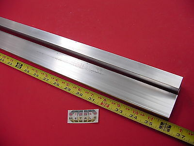 2 Pieces 34x 1-12x 18 Wall Aluminum Rectangle Tube 6063 T52 X 36 Long