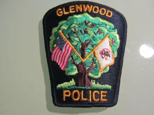 GLENWOOD IL POLICE PATCH