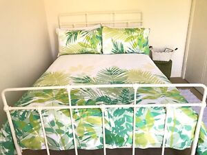 Cream Iron King Bed Naremburn Willoughby Area Preview