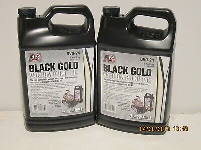 Jb Dvo-24 2-gallon Black Gold Deep Vacuum Pump Oil-new In Sealed Jug-fpriship