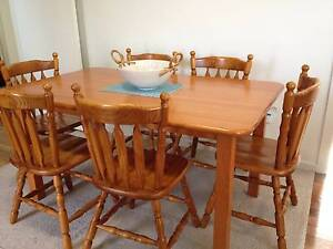 Dining Table and 6 Chairs Stockton Newcastle Area Preview