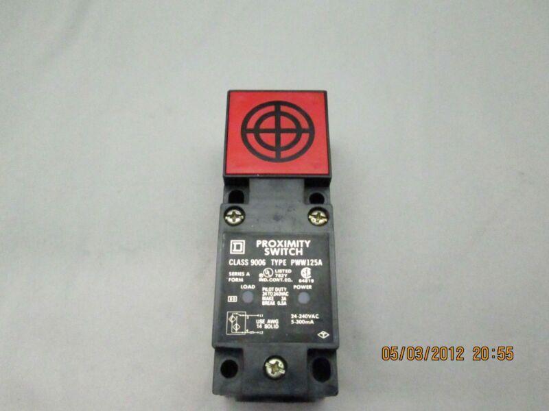 Square D Proximity Switch Sensor 9006 PWW125A