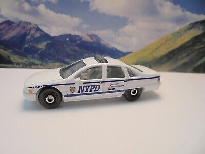94 CHEVY CAPRICE CLASSIC POLICE   2020 Matchbox MBX City Series    White
