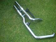 Motor Cycle Exhaust pipes off HARLEY DAVISON FATBOY. Thornlie Gosnells Area Preview