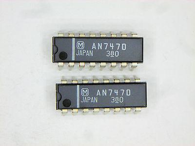 An7470 Original Panasonic Matsushita  16p Dip Ic 2 Pcs