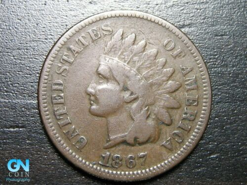 1867 Indian Head Cent Penny  --  MAKE US AN OFFER!  #B2020