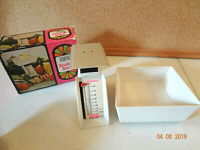 Vintage Weight Watchers Scale and Bowl in original box Photo Prop
