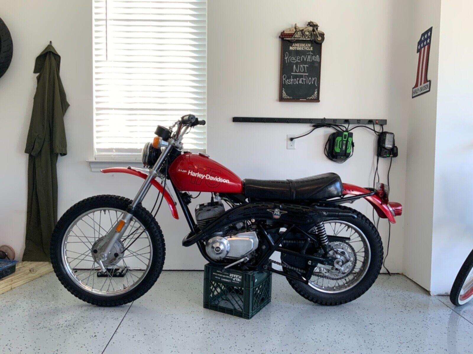 1978 Harley Davidson Aermacchi SX175