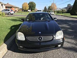 Mercedes décapotable