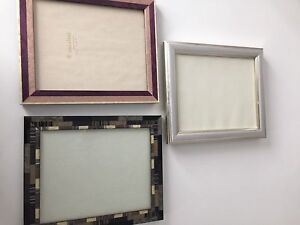 3 New beautiful frames Made in Italy $25