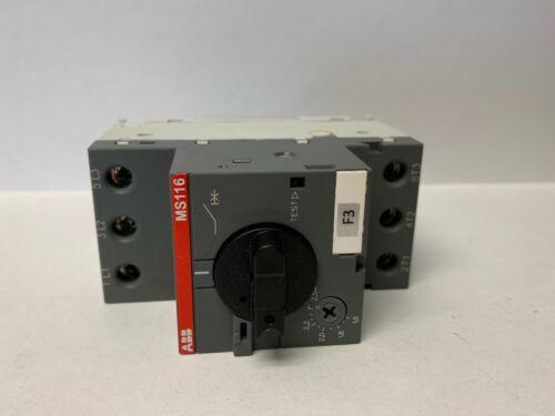ABB MS116-10 Manual Motor Starter #13