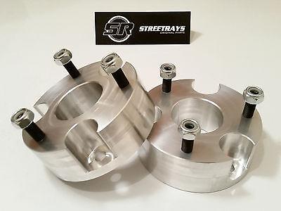 """StreetRays CNC Billet 3"""" Front Leveling Spacer Lift Kit 06-10 Dodge Dakota 4WD"""