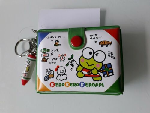 Sanrio Keroppi Keychain with mini Plastic Box