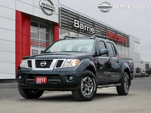 2017 Nissan Frontier PRO-4X YES ONLY 4900 KM'S FACTORY EXTEND...