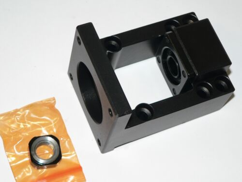 Nema23 Ballscrew Motor Mount Bracket BK12 Support Block w/Angular Contact CNC