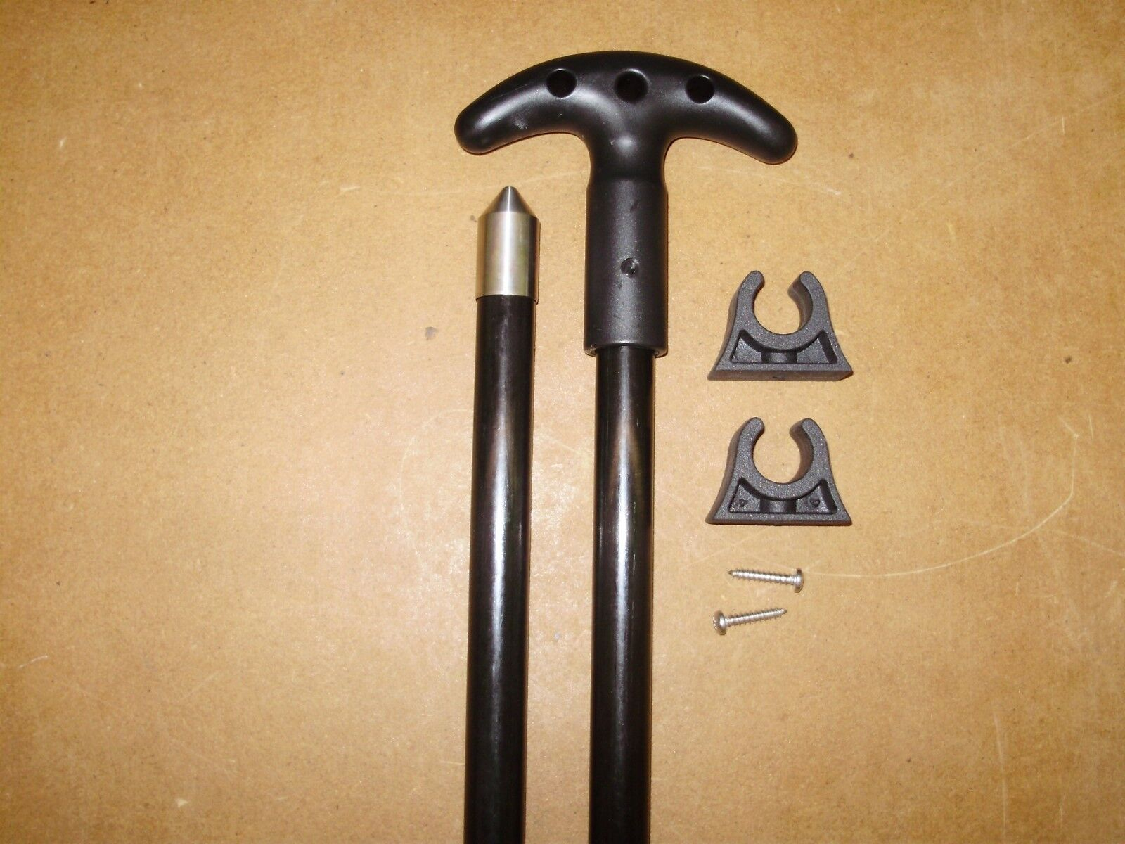 12 Ft. Jointed 2 Pc. Shallow Water Stick Anchor Pin Anchor Pole - PRO-12B-2P