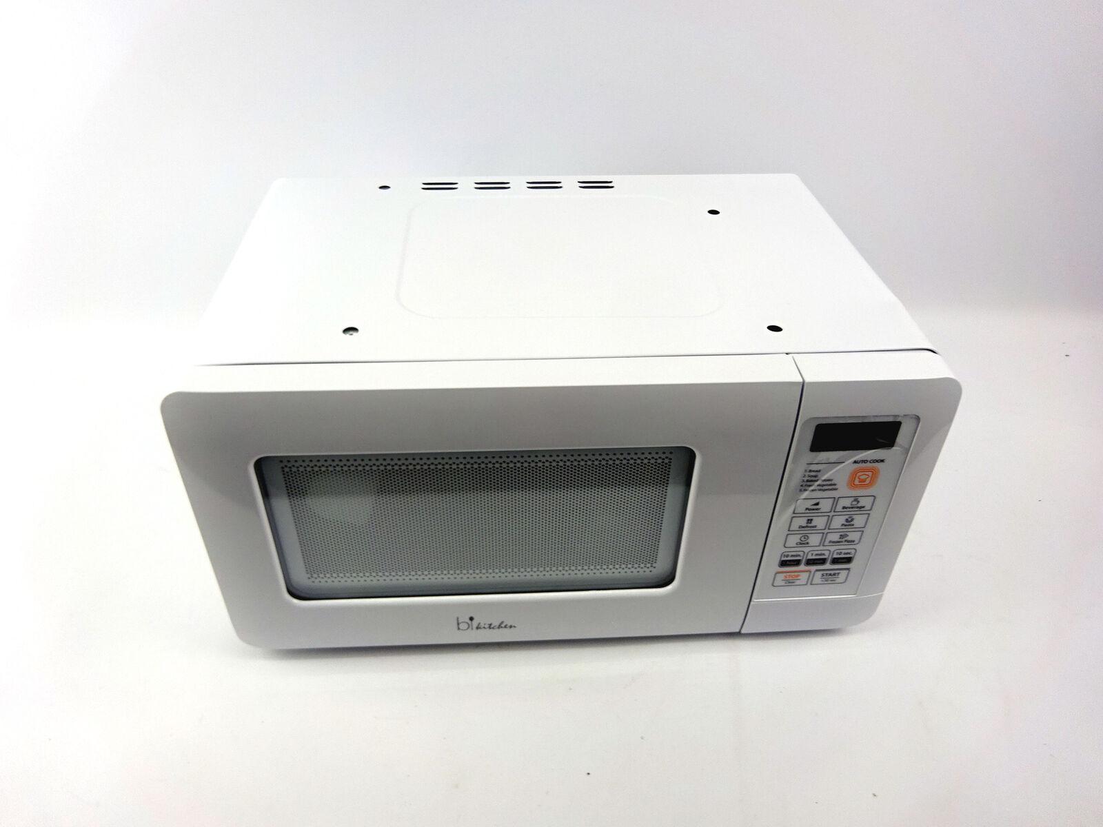 BKITCHEN Mini 200 Kompakt-Mikrowelle mit Auftau- und Diamond DEFEKT W21-JV9741