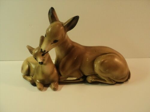 Mother and Baby Deer, Doe and Fawn, Souvenir - Vancouver BC, Canada Sticker