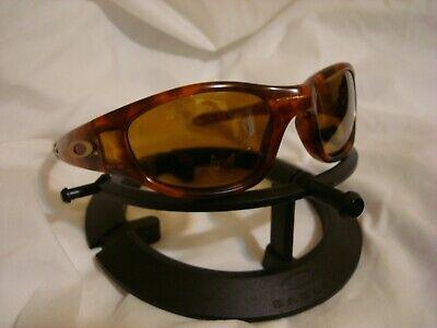 VTG Oakley Ten X Tortoise Sunglasses Gold Irridium Lenses excellent (Oakley X Ten)