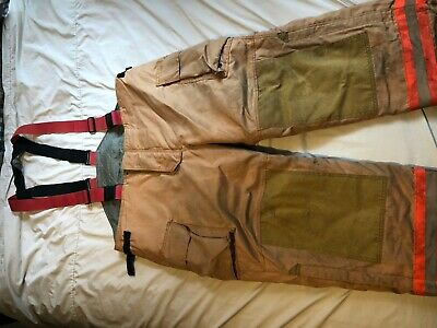 Securitex Firefighter Pants Turn Out Gear Size 50x30 Fp-29
