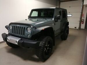 2014 Jeep Wrangler Sahara|Rmt Start|Btooth|4WD|Local|Loaded