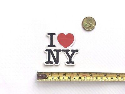 Quality I Love NY Heart Vinyl Sticker PVC Decal Skateboard Laptop Cellphone - I Heart Ny Sticker