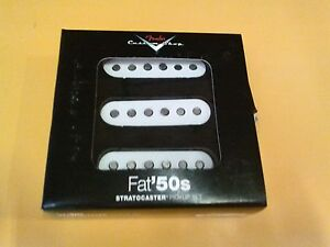 New-Fender-Custom-Shop-Fat-50-039-s-Stratocaster-Strat-Electric-Guitar-Pickup-Set