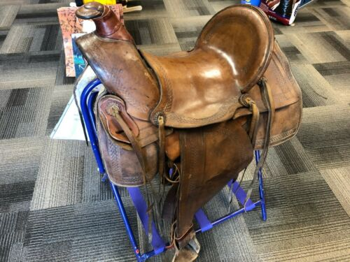 Used E.c. Dodson Saddle Made In The 1900