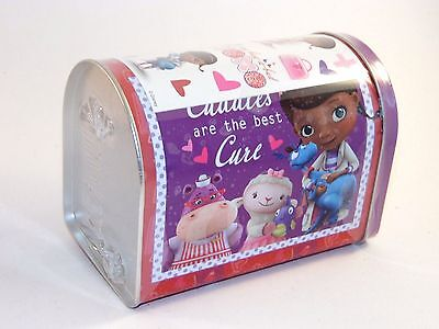 6 IN Dr Mc Stuffins Mail Box Valentines Day Container Party Decoration - Doctor Stuffins