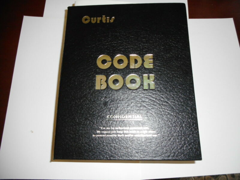 Vintage Curtis Key Code Book Chrysler, AM, Jeep, IH, Ford, GM