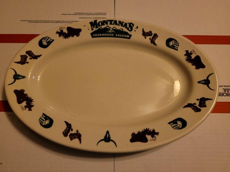 "Lg 13 1/2"" Platter Buffalo China Restaurant Ware MONTANA"