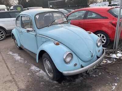 1971 Volkswagen Beetle 1200 1.2 RIGHT HAND DRIVE ( BARN FIND CLASSIC PROJECT )