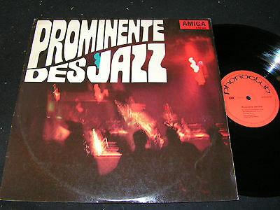 PROMINENTE DES JAZZ Miles Davis, Quincy Jones / DDR LP'67 AMIGA PHONOCLUB 850083