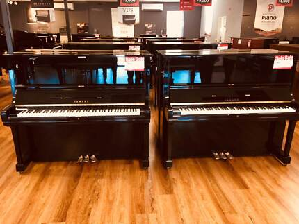 Yamaha U1 and U3 Used upright pianos 50+ in store