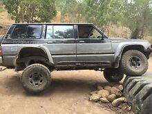 Nissan patrol wagon petrol rb30 mud tyres 4x4 manual Helensvale Gold Coast North Preview