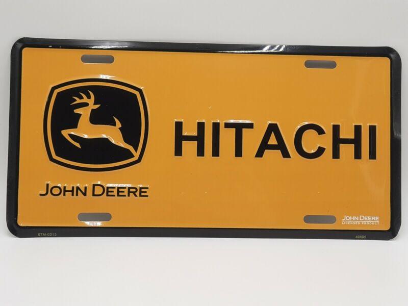 John Deere Hitachi Liscence Plate