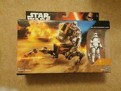 Star Wars First Order Stormtrooper Officer And Assault Walker