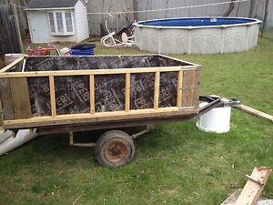 Remorque rénovée / Renovated trailer