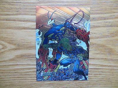 1995 Image Universe Savage Dragon Chrome Creator Bio Card Signed Erik Larsen Poa