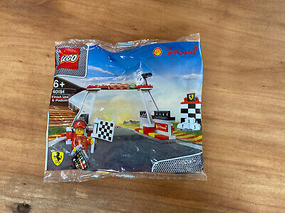 Lego 40194 Shell V-Power Ferrari Finish Line & Podium - Brand New Sealed