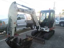 Bobcat 331 Mini Excavator Enclosed Cab Quick Hitch Slacks Creek Logan Area Preview