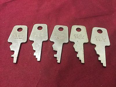 LOCKSMITH PRECUT SKELETON KEY ASSORTMENT bit pre cut master keys tools locks