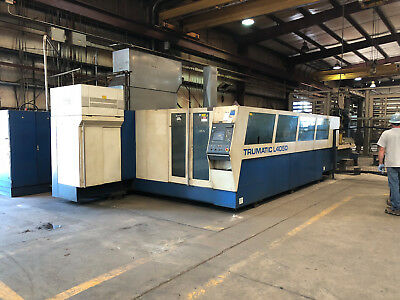 Trumpf 4050 Laser 80 X 160 5000 Watts - Fabricating Machinery