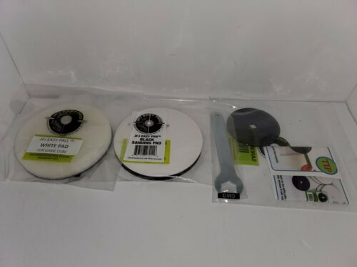 GAMECUBE PLASTIC PLATE  & SANDING PAD &  BUFFING PAD FOR  THE JFJ EASYPRO PLUS