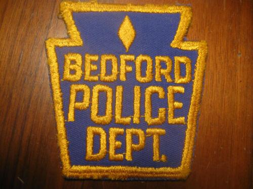 BEDFORD PENNSYLVANIA POLICE PATCH (KEYSTONE)