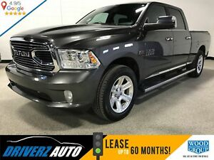 2016 RAM 1500 LIMITED TRIM, AIR SUSPENSION, HEATED STEERING W...