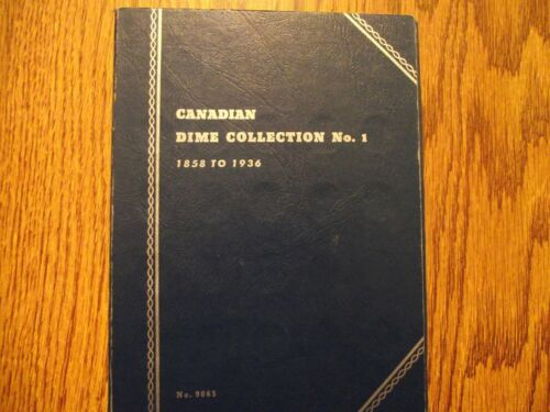 Canada Dime Collection No.1 - with 12 Silver Dimes