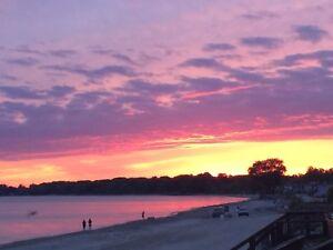 Beachfront Paradise Lake Erie's  @ Sheraton Shores Sunset