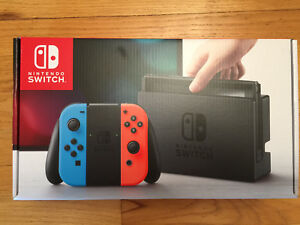 Nintendo Switch Console brand new unopened